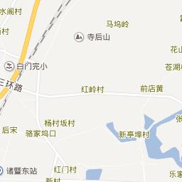 Zhuji Sofia Knitting CoLtd - Zhuji map